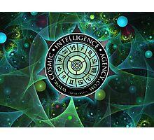 Cosmic Intelligence Agency Photographic Print