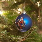 santa clause christmas tree ornament by digidreamgrafix