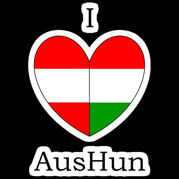I Heart AusHun by SevLovesLily