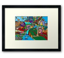 Pilgrims progress Framed Print