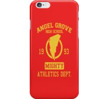 Angel Grove H.S. iPhone Case/Skin