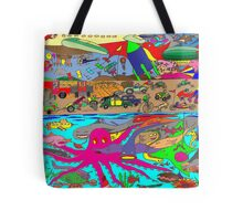 Air, Land and Sea Tote Bag