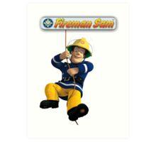Fireman Sam Art Print