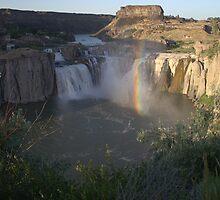 Shoshone Falls Twin Falls, Idaho by Michael Rogers