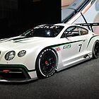 Bentley Continental GT3 by tom brown