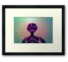 Skull Dude Framed Print