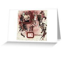 Rare Air-Michael Jordan Greeting Card