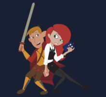 Kim & Ron Cosplay Amy & Rory Kids Clothes