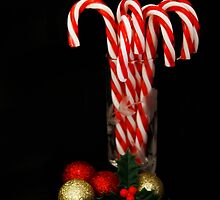 Christmas Candy Canes by AnnDixon
