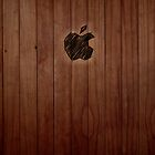 Wooden iPad Case by Sarah  Mac