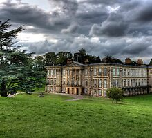 """Storms over Calke Abbey"" by Bradley Shawn  Rabon"