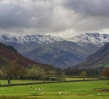 The Lake District..Great Langdale by Jamie  Green
