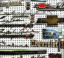 Automotive metal badges by htrdesigns