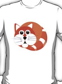 Ginger Cat Puss - T Shirt T-Shirt