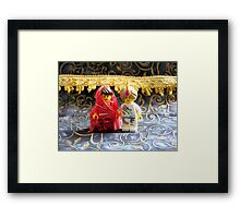Lego Hindu Wedding Framed Print