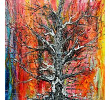 Wildfire  Tree of life No5   Photographic Print