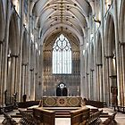 York Minster interior by Siegeworks .