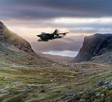 Tornado up Bealach na Ba by Gary Eason
