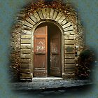 Tuscan Door by Karen Lewis