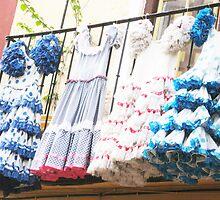 Party dresses, Malaga, Spain by wandringeye