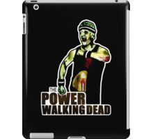 The Power Walking Dead (on Black) [ iPad / iPhone / iPod Case   Tshirt   Print ] iPad Case/Skin