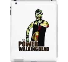 The Power Walking Dead (on White) [ iPad / iPhone / iPod Case | Tshirt | Print ] iPad Case/Skin