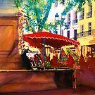 Flower Market - Aix by Donna Jill Witty