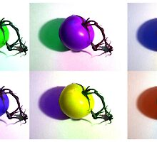 Pop-Art Tomatoes by SRowe Art