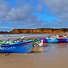 Navy ASRL Torquay Surf Beach by Andy Berry