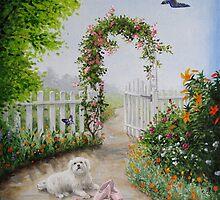 Sues Garden by Heidi Schwandt Garner
