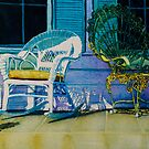 Key West Porch by Donna Jill Witty