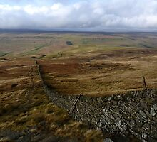 Ascent of Buckden Pike by Kat Simmons