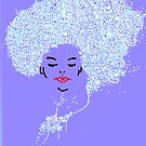 Woman in Periwinkle by KeLu
