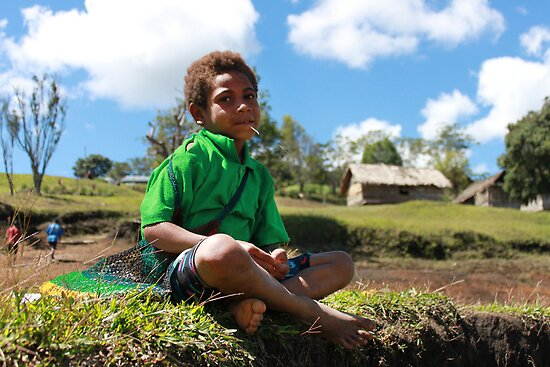 Young Village Boy by BenClarkImagery
