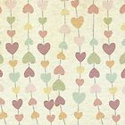 Vintage Hearts iPhone Case / Cover by David Evans