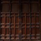 Myoshin-ji Door by Skye Hohmann