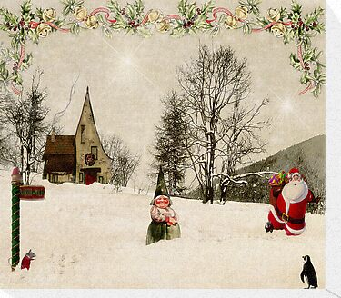 Going Home for Christmas... by Karen  Helgesen