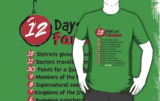 The 12 Days of Fandom by warbucks360
