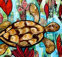 Gracie's love for Turtles by Rachel Ireland-Meyers
