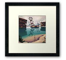Badplatsen Framed Print