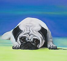 Pug Dog by Laura Barbosa
