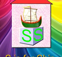 S is for Ship Play Brick by Dennis Melling
