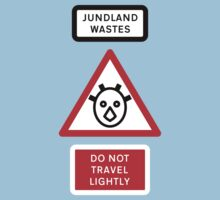 Jundland Wastes Road Sign by Technohippy
