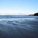 ballybunion beach on a cold winters day  by morrbyte