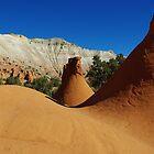 Particular rock formations, Utah by Claudio Del Luongo