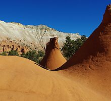 Particular rock formations, Utah by Claudio Del Luongo