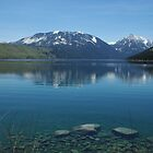 Wallowa Lake, Oregon by Claudio Del Luongo