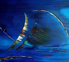 Blue 1 by david hatton
