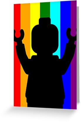 Minifig Pride by Customize My Minifig by ChilleeW