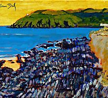 Red Strand Rocks, Cork by eolai